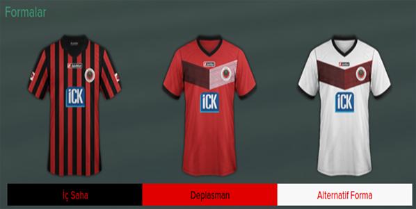 FM 2015 Süper Lig Forma Paketi
