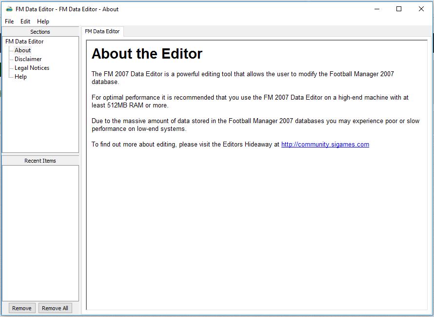 football manager 2007 data editör