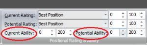 potential ability - FM Genie Scout 17 - Türkçe