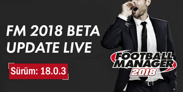 fm 2018 beta güncelleme