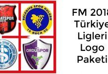 FM 2018 Türkiye Ligleri Logo Paketi