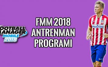 FMM 2018 Antrenman Programı