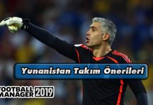 FM 2019 Yunanistan Takım Önerileri