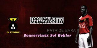 FM 2019 Serbest Sol Bekler