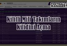 fm 2019 kilitli milli takımlar